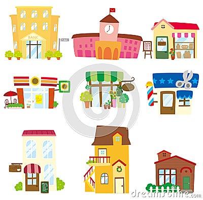 Free Cartoon House Icon Royalty Free Stock Image - 18634706