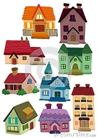 Free Cartoon House Icon Royalty Free Stock Photo - 18699895