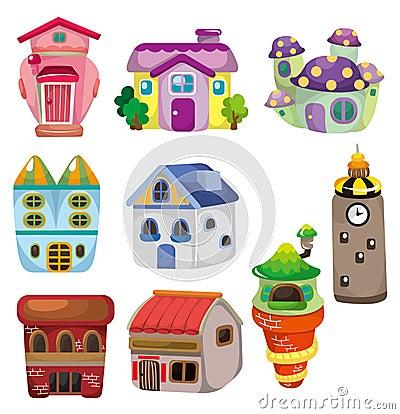 Free Cartoon House Icon Royalty Free Stock Photo - 18829255