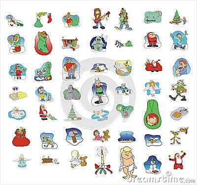 Cartoon icon collection #01