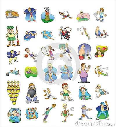 Cartoon icon collection #02