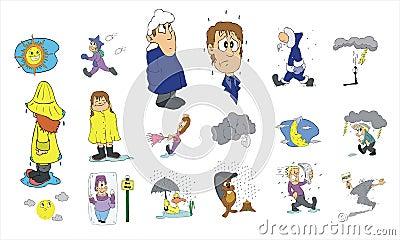 Cartoon icon collection #04