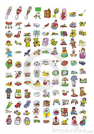 Cartoon icon collection #07