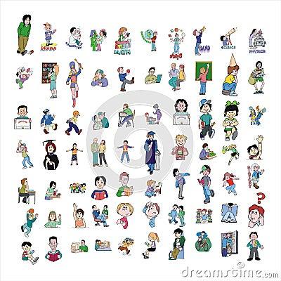 Cartoon icon collection #08