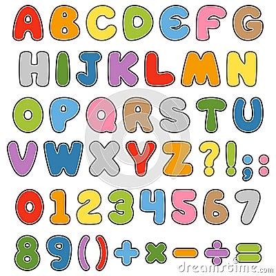 Cartoon Kids Font