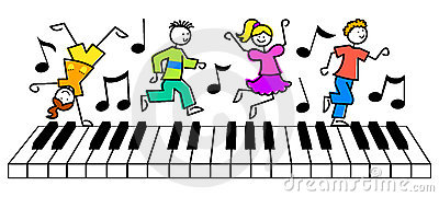 Cartoon Kids Music Keyboard/eps