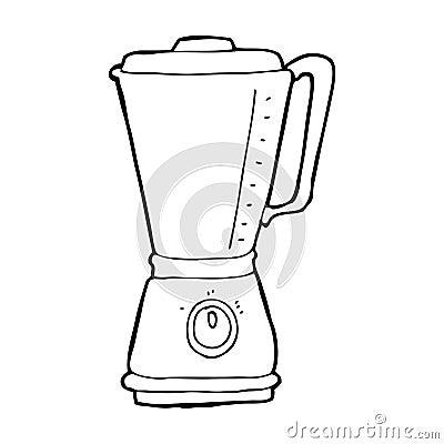 Cartoon Kitchen Blender Stock Images Image 37027564