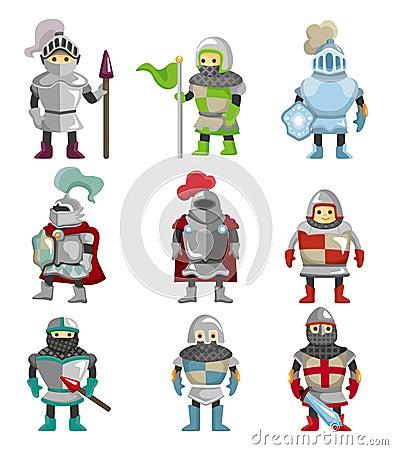 Free Cartoon Knight Icon Royalty Free Stock Photography - 20773317