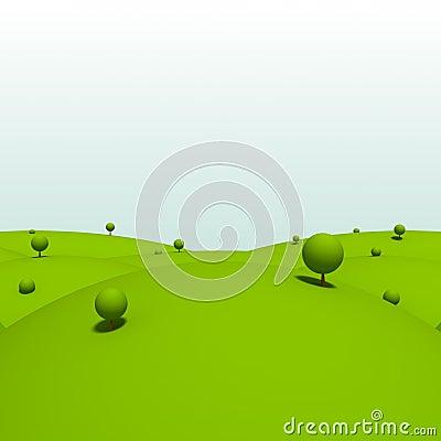 Cartoon land