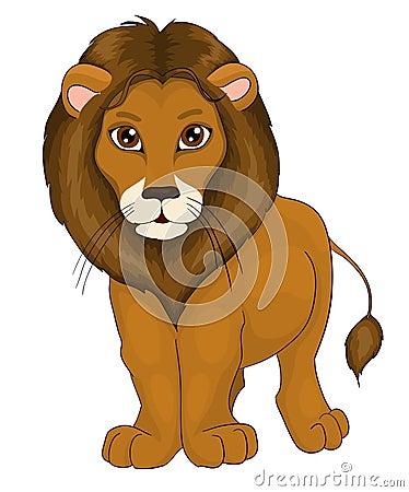 Free Cartoon Lion Stock Images - 27181614