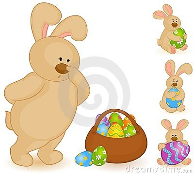 Cartoon Little Toy Bunny Royalty Free Stock Photo - Image: 18894665