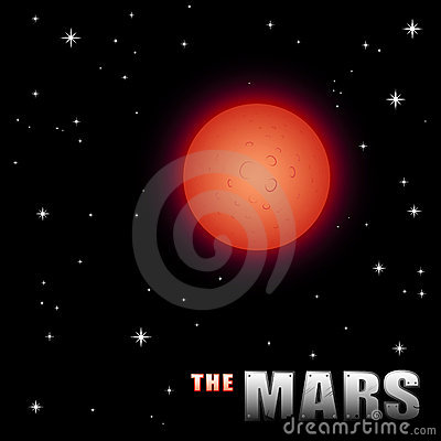 Cartoon Mars
