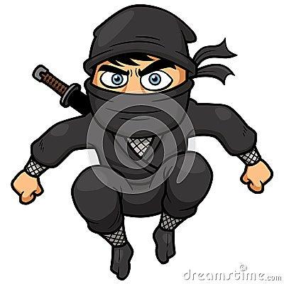 Free Cartoon Ninja Royalty Free Stock Photo - 34738465