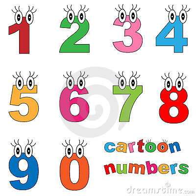 Cartoon numbers