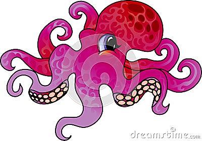 Cartoon Octopus Royalty Free Octopus Cartoon Images
