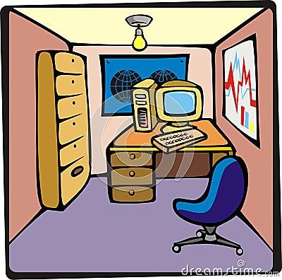 Cartoon Office