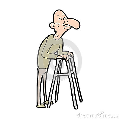 Famous Old Man Walking Frame Picture Collection - Frames Ideas ...