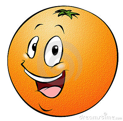 Cartoon Orange Royalty Free Stock Photo - Image: 17963115