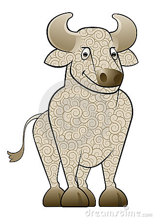 Cartoon Ox/Bull