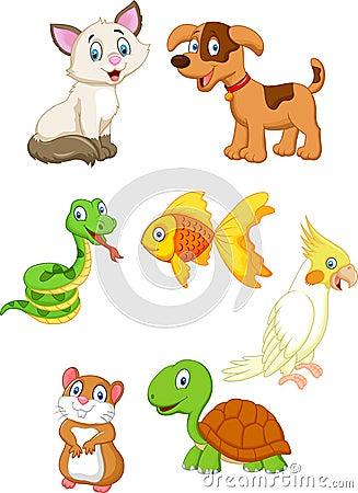 Free Cartoon Pet Royalty Free Stock Images - 45856879