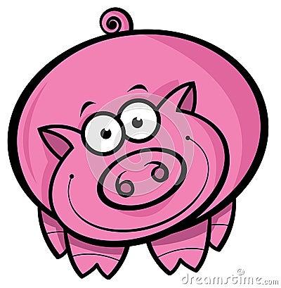 Free Cartoon Pig Stock Photo - 13683220