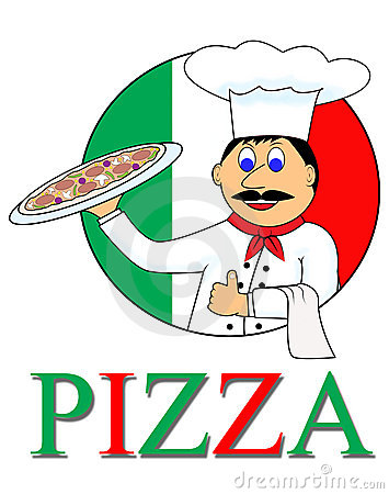 Cartoon Pizza Royalty Free Stock Image - Image: 17947556