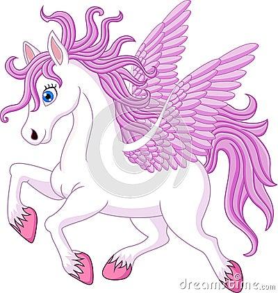 Free Cartoon Pony Horse Posing Isolated On White Background Royalty Free Stock Photo - 72529575