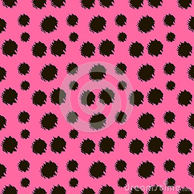 Free Cartoon Realistic Leopard Vector Texture. Royalty Free Stock Photo - 118619535