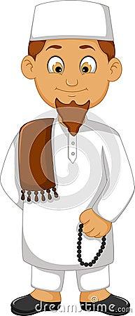 Cartoon religious leader