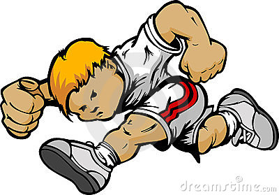 Cartoon Running Boy Cartoon Stock Image - Image: 23987431