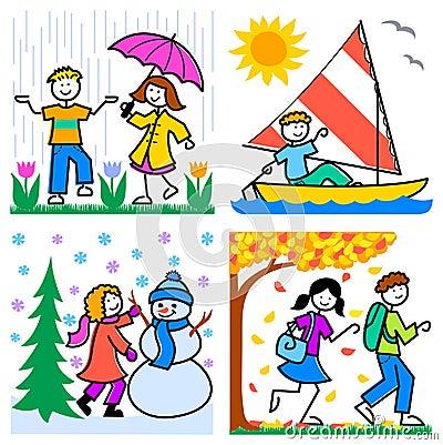 Cartoon Seasons Kids/eps