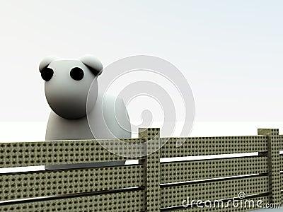 Cartoon Sheep 4
