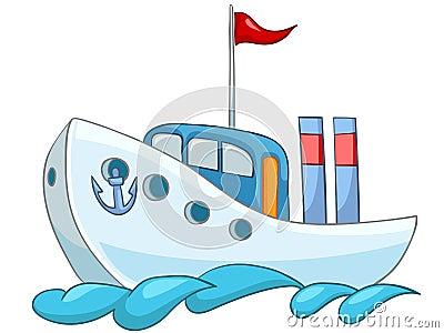 Cartoon Ship
