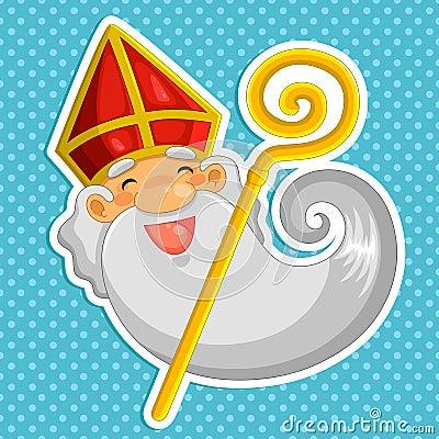 cartoon Sinterklaas