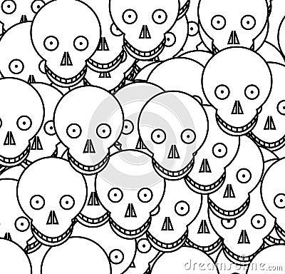 Cartoon Skull 4