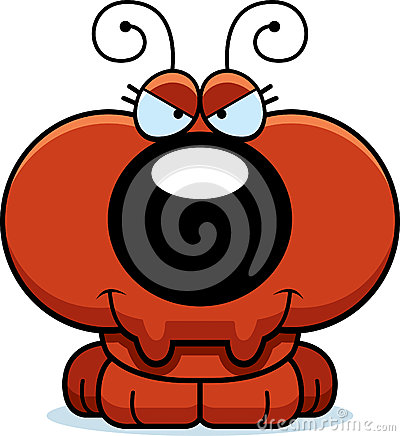 Free Cartoon Sly Ant Royalty Free Stock Images - 47089229