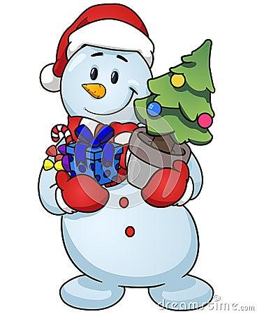 Snowman Clip Art Stock Images - Image: 7049644