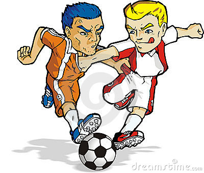 Cartoon soccer 02