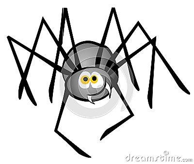 Cartoon Spider Clip Art