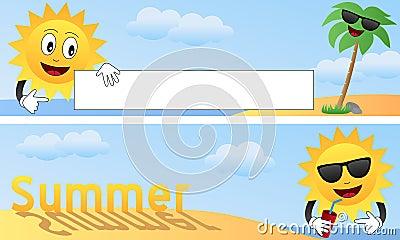 Cartoon Summer Banners [1]