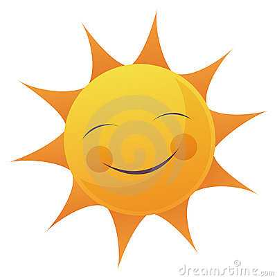 Free Cartoon Sun Face Royalty Free Stock Photo - 10311145
