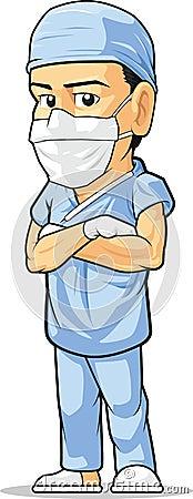 Cartoon of Surgeon