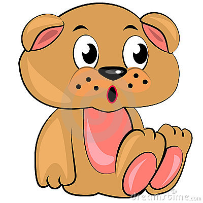 Teddy Bear Cartoon Illustration Stock Vector - Image: 48477221
