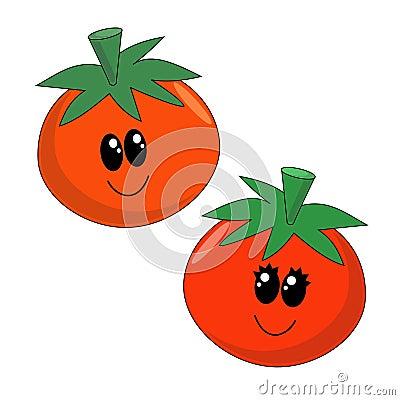 Cartoon Tomatoes