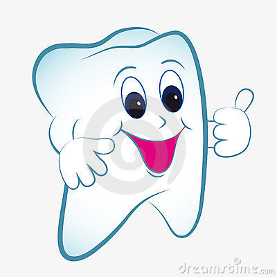 Free Cartoon Tooth Royalty Free Stock Image - 19919106