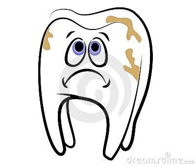 Cartoon Tooth Dental Cavity