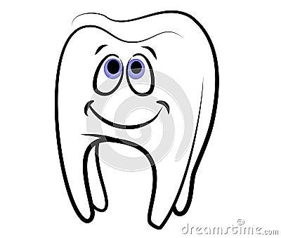 Cartoon Tooth Dental Clip Art