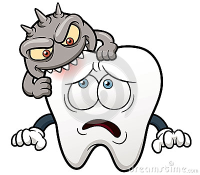 Cartoon Tooth Royalty Free Stock Images - Image: 30464069