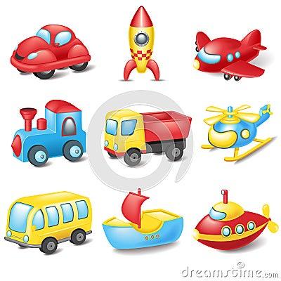 Free Cartoon Transport Stock Photo - 35318370