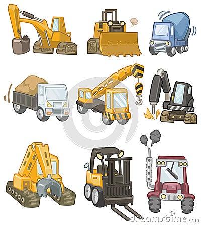 Free Cartoon Truck Icon Royalty Free Stock Photos - 18030108